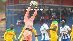 Mathare United v AFC Leopards.