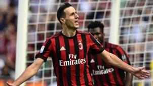 Nikola Kalinic AC Milan 17092017