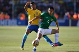 Alex Sandro Bolívia x Brasil 05102017