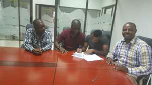 Clifton Miheso signing for Zambian club Buildcon