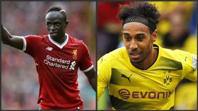 Sadio Mane and Aubameyang