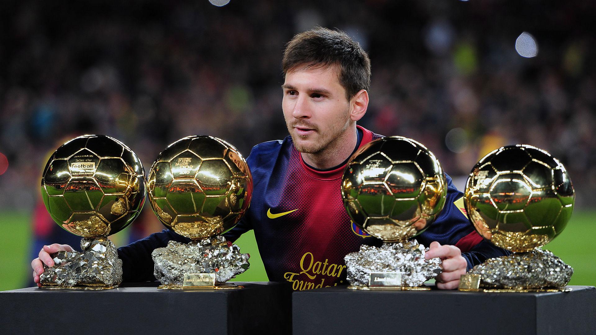Lionel Messi Barcelona Ballon dOr 2013