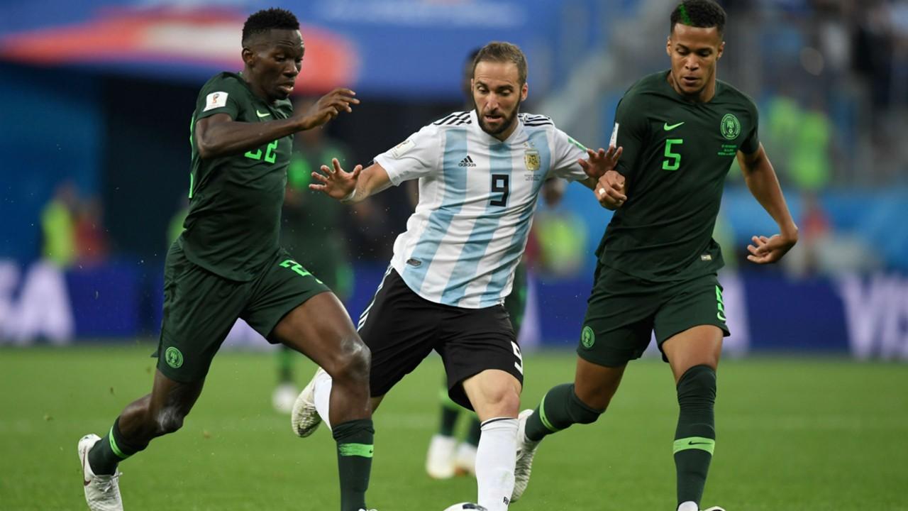 Gonzalo Higuain Argentina Nigeria World Cup Russi 2018 26062018