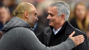 2018-11-11 Jose Mourinho Pep Guardiola