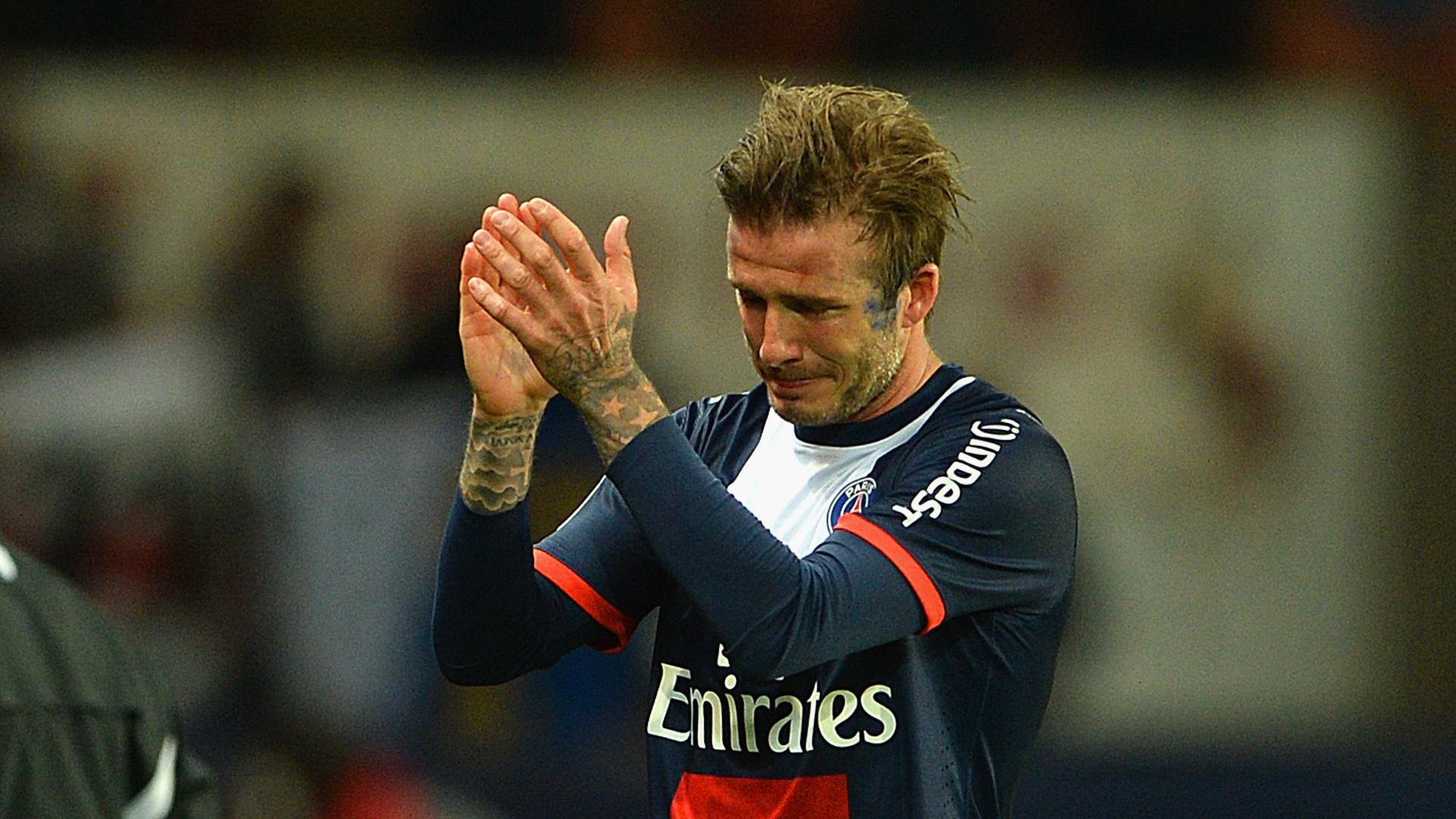 David Beckham PSG Ligue 1