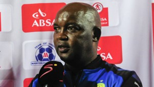 Mamelodi Sundowns coach Pitso Mosimane, April 2018
