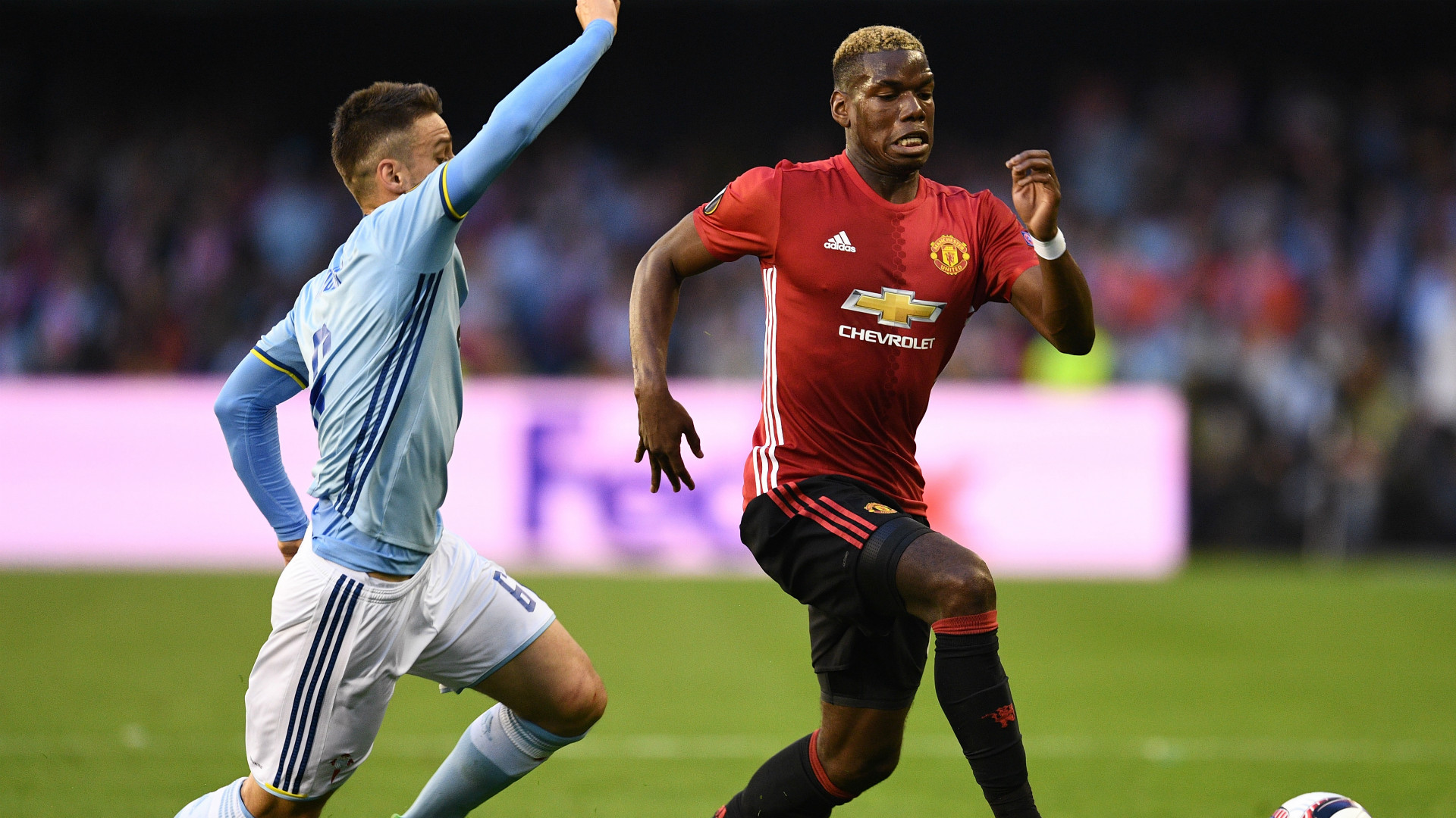 Radoja Pogba Celta Manchester United Europa League