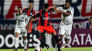 Roman Martinez San Lorenzo Palmeiras Copa Libertadores 02042019