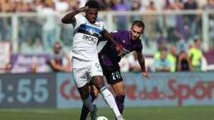 Zapata Fiorentina Atalanta