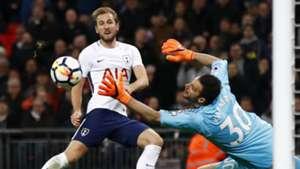 Harry Kane Costel Pantilimon Tottenham Watford Premier League