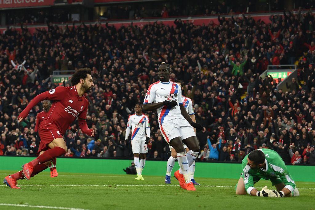Mohamed Salah Liverpool vs Crystal Palace EPL 190119