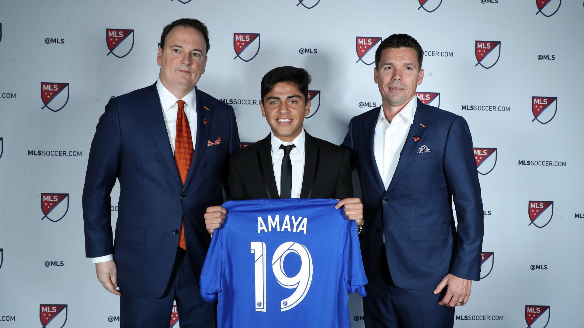 Frankie Amaya FC Cincinnati 01112019
