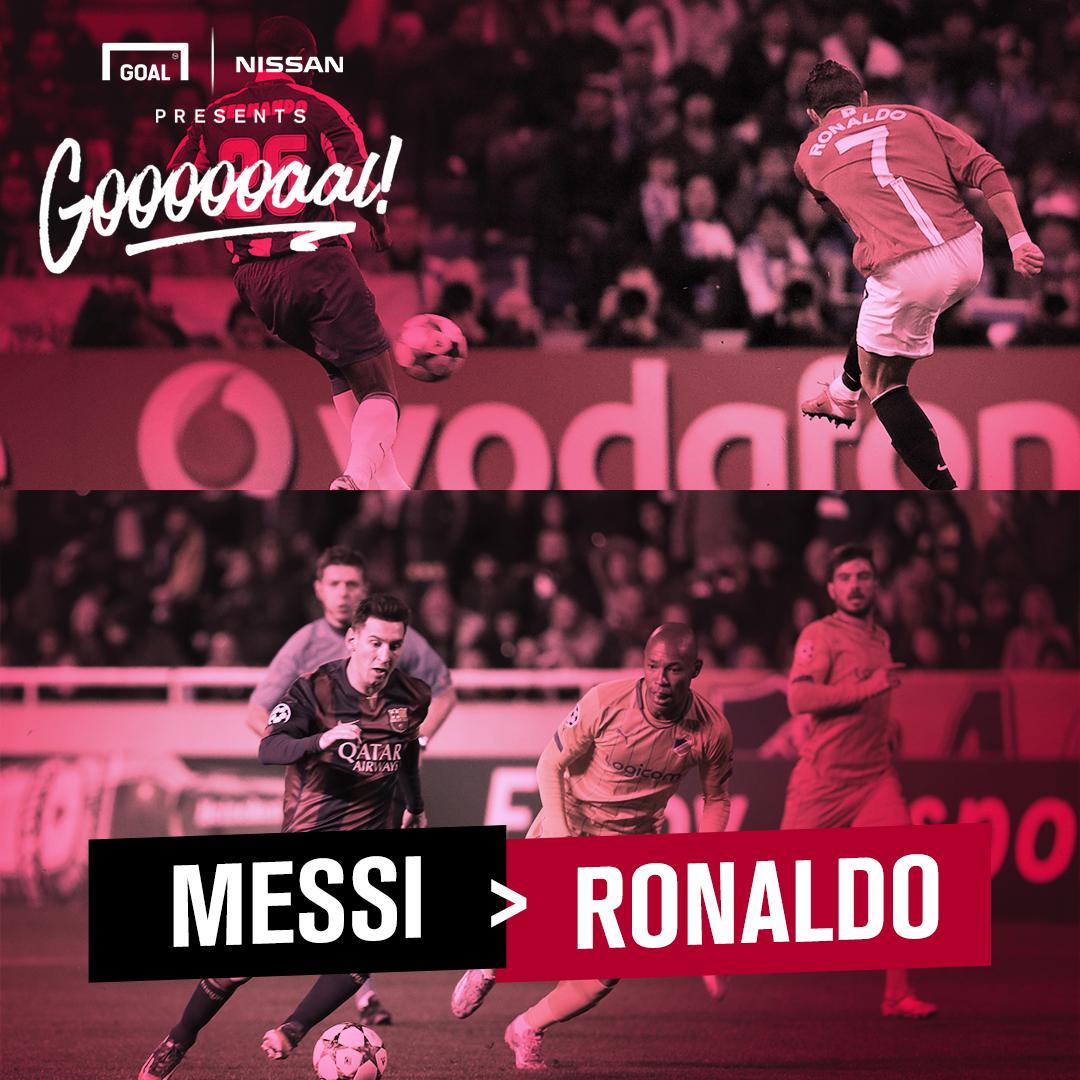 Nissan Messi Ronaldo 11092017