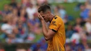 Rostyn Griffiths Newcastle Jets v Perth Glory A-League 15012017