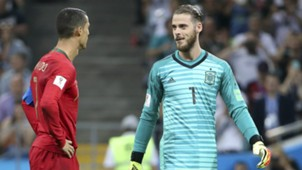 Cristiano Ronaldo David de Gea 2018 World Cup