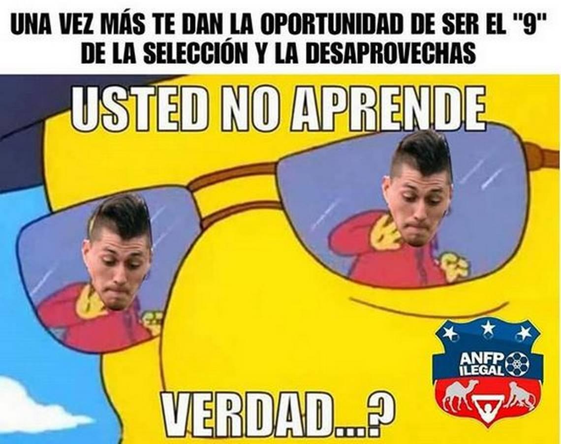 Memes derrota de Chile