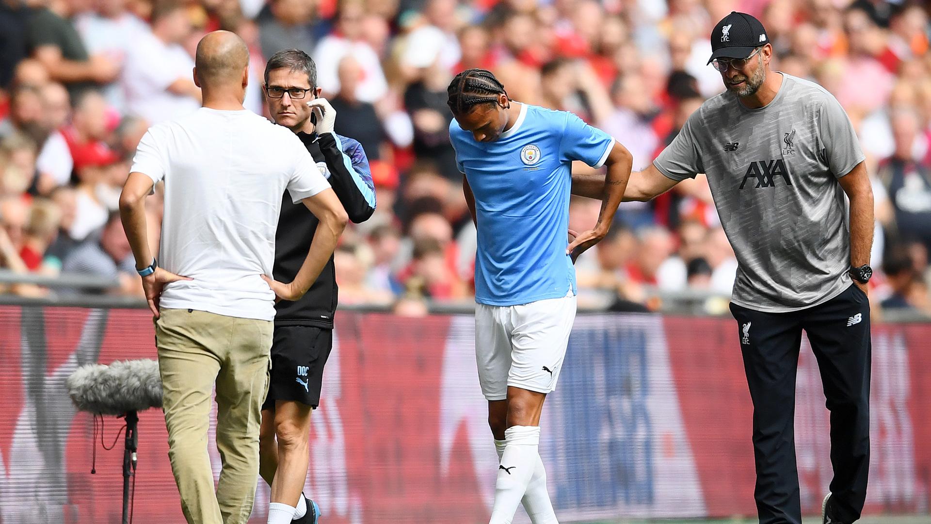 Manchester City: infortunio per Leroy Sané, si è rotto il legamento crociato