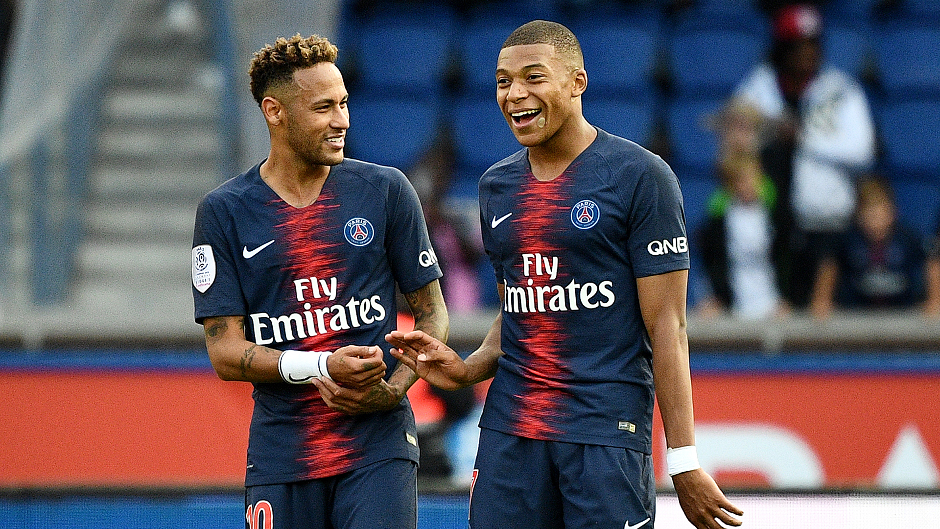 Neymar Kylian Mbappe Are Made To Play Together Barcelona Star