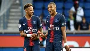 Neymar Kylian Mbappe PSG SCO Angers