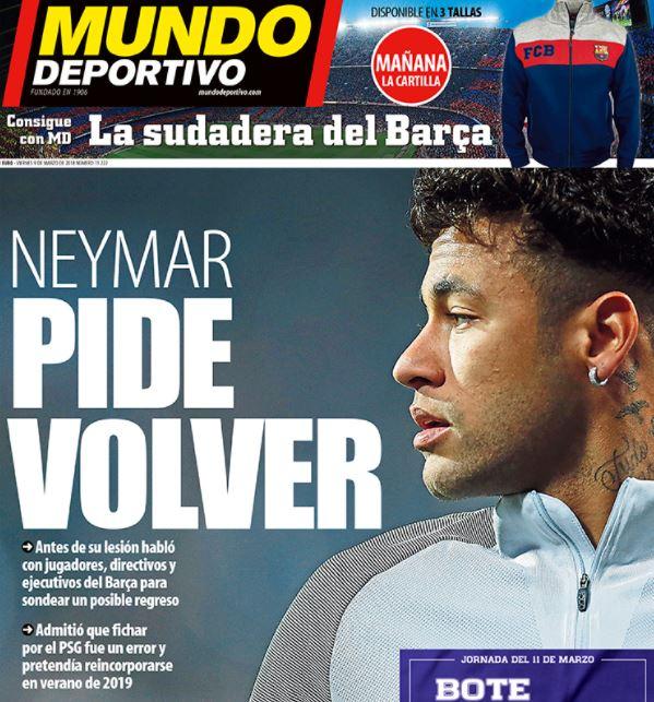 Mundo Deportivo cover