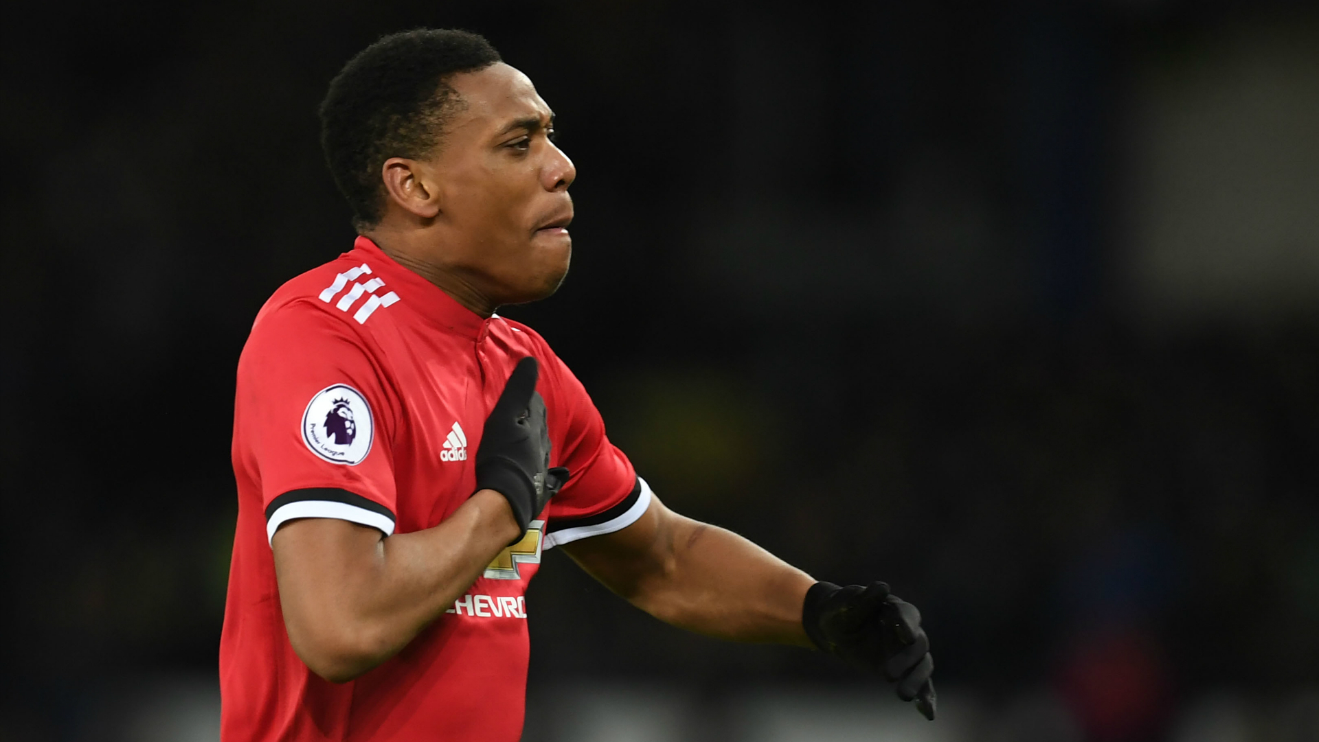 Anthony Martial Manchester United Everton