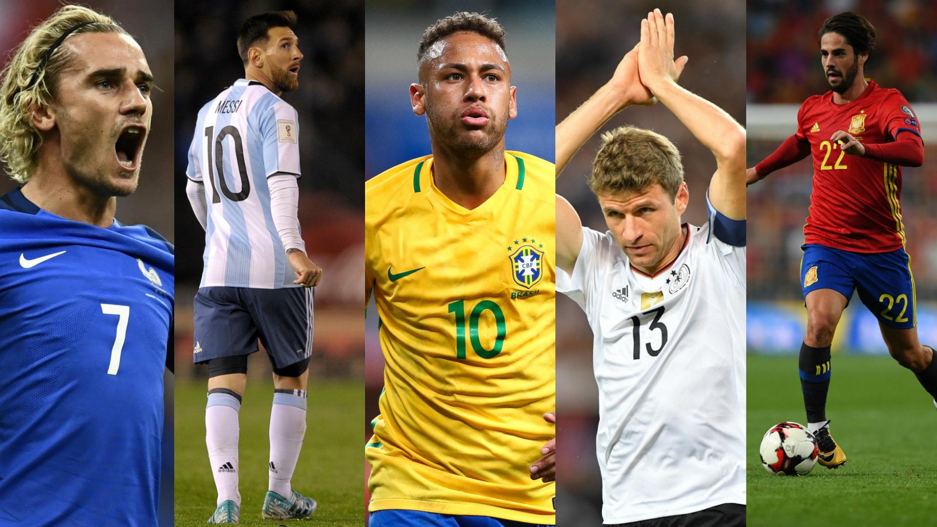 lista de argentina mundial 2018