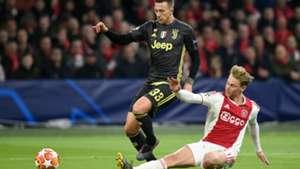 Federico Bernardeschi Frenkie de Jong Ajax - Juventus 04102019