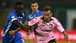 Assane Diousse Alessandro Diamanti Palermo Empoli Serie A