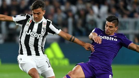 Dybala Giovanni Simeone Juventus Fiorentina Serie A