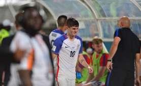 Christian Pulisic Selección Estados Unidos 111017