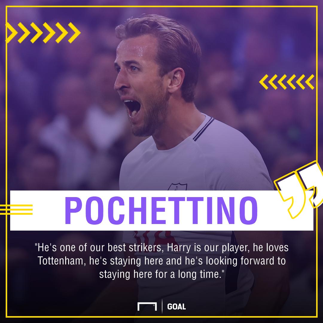 Mauricio Pochettino Harry Kane stay Tottenham