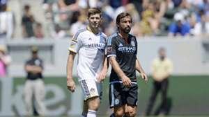 MLS Andrea Pirlo y Steven Gerrard