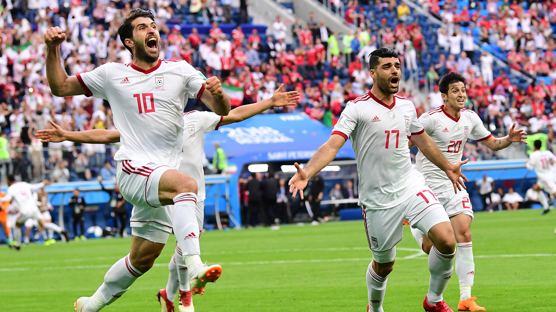 Iran staff member hospitalized after disallowed goal in Spain World Cup game