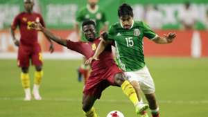 Rodolfo Pizarro Ebenezer Ofori Mexico Ghana international friendly