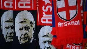 Arsenal Arsene Wenger scarves
