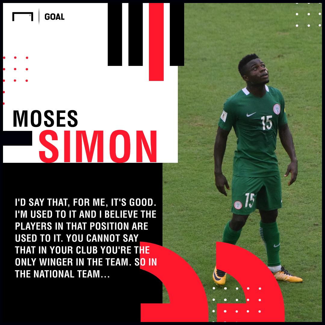 Moses Simon - Nigeria HP