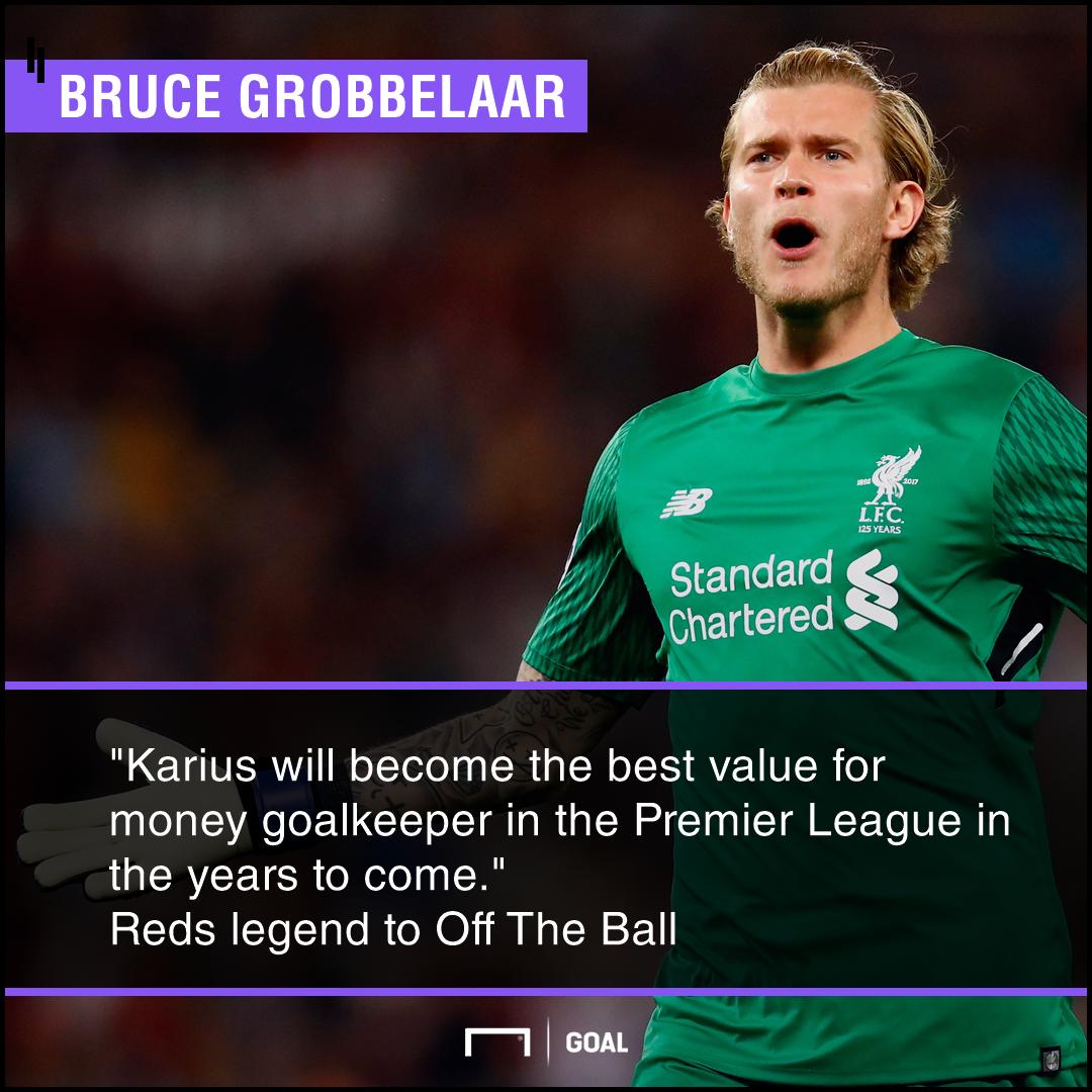 Loris Karius best value for money Premier League Bruce Grobbelaar