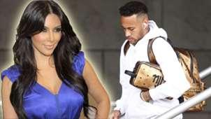 Neymar Kim Kardashian
