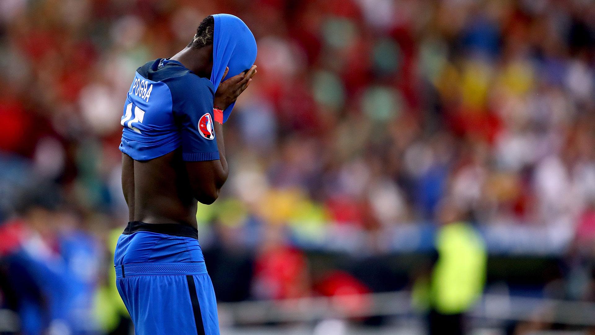 Paul Pogba France Portugal Euro 2016