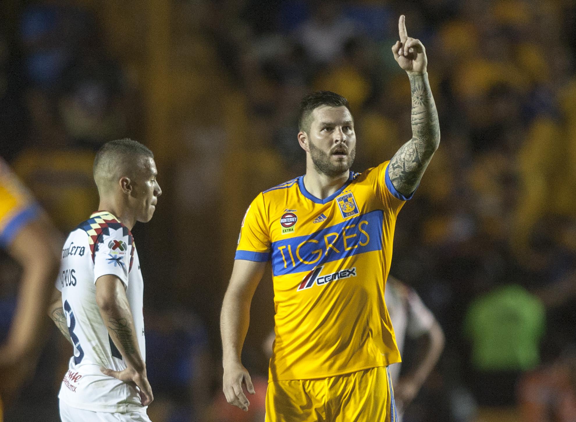 Goles franceses y anulado roban show en Tigres-América