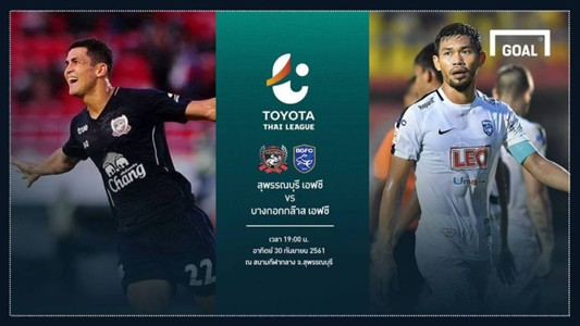 Image result for TOYOTA THAI LEAGUE PREVIEW : สุพรรณบุรี เอฟซี - บีจีเอฟซี