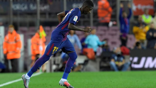 Ousmane Dembele Barcelona Espanyol LaLiga 09092017