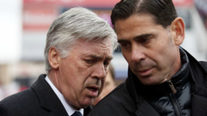 Fernando Hierro, former Real Madrid assistant coach with Carlo Ancelotti