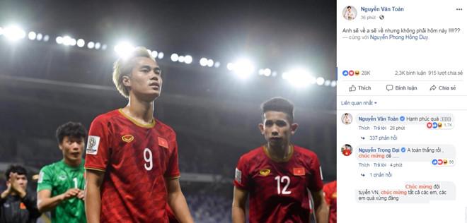 ĐT Việt Nam ăn mừng sau trận Jordan