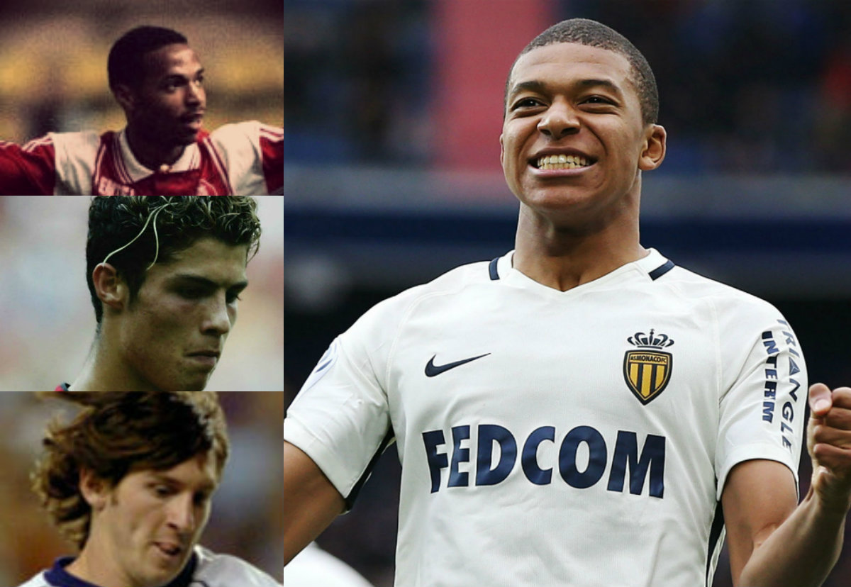 Collage Mbappé