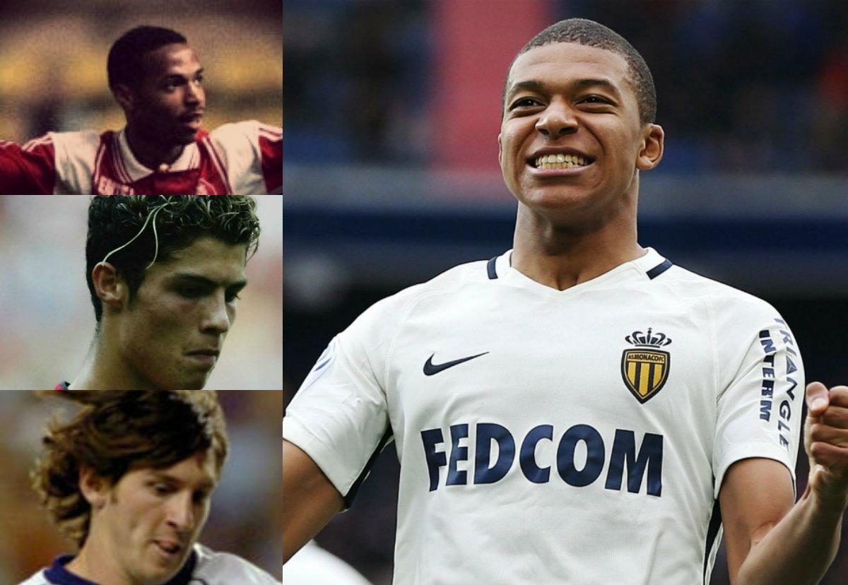 Collage Mbappé