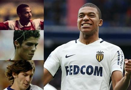 Henry, Ronaldo, Messi... Où en étaient-ils à l'âge de Kylian Mbappé ? | Goal.com