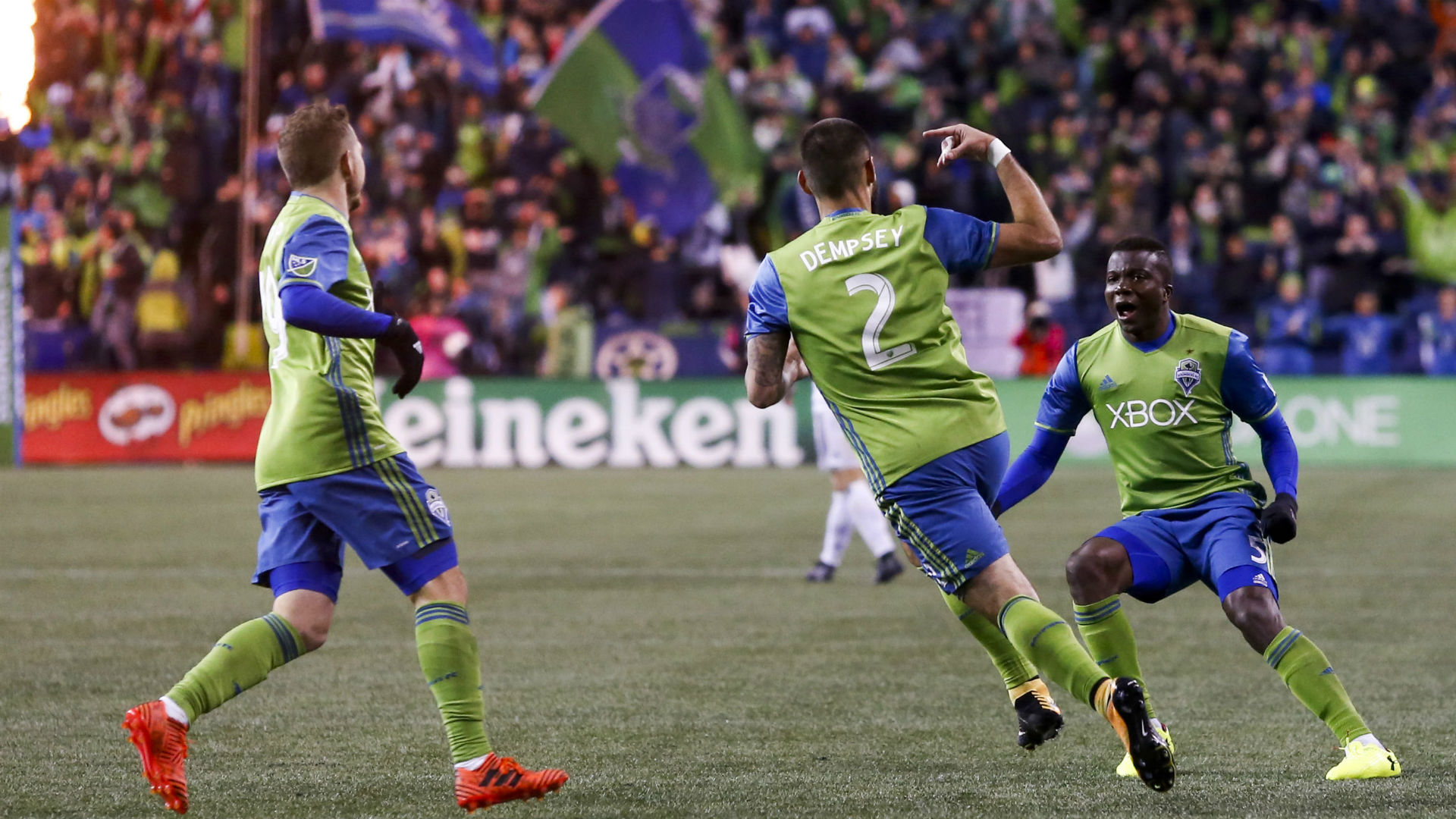 Clint Dempsey Seattle Sounders MLS Playoffs