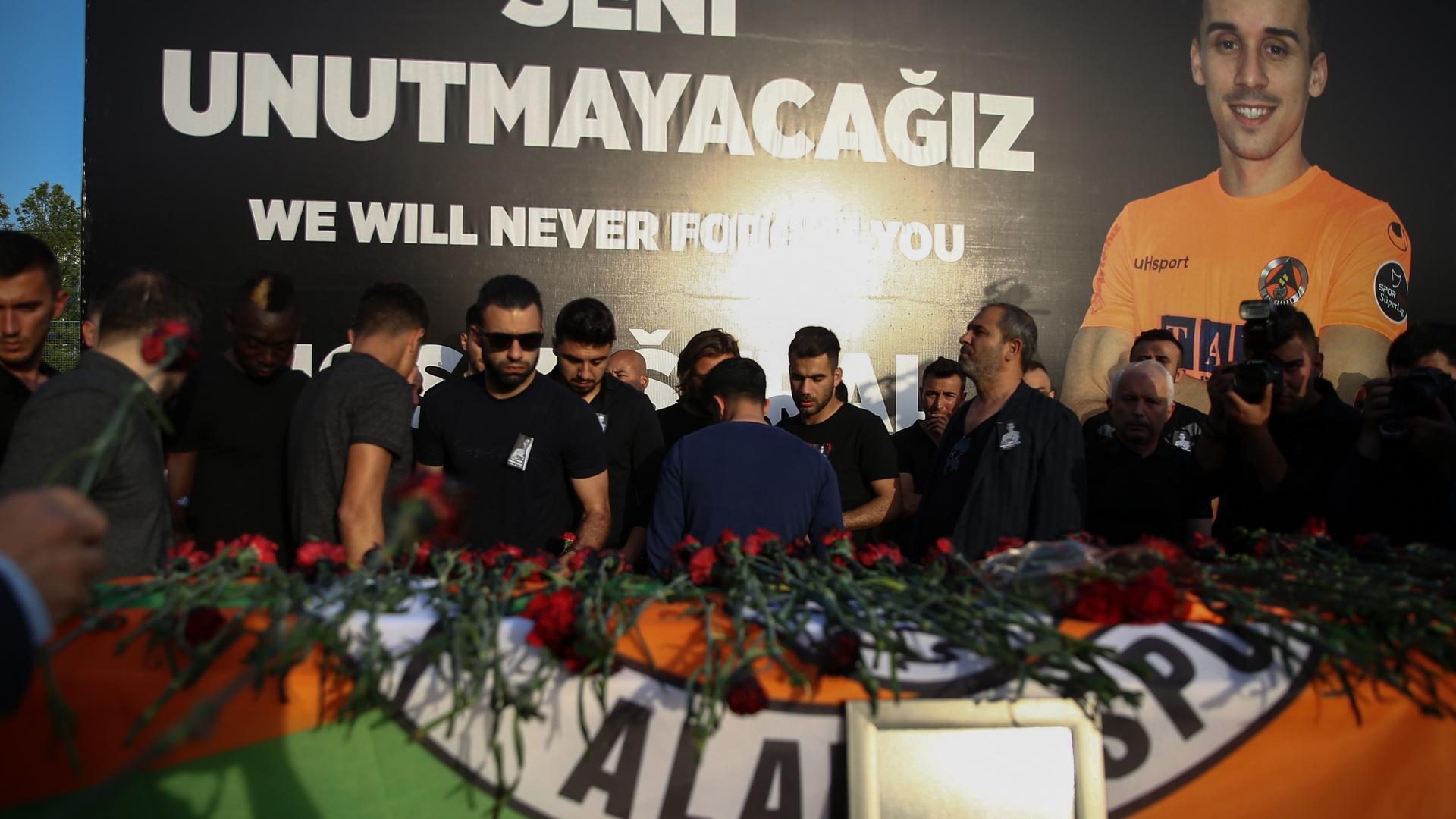 Josef Sural funeral