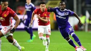 Frank Acheampong - Anderlecht, Manchester United 13042017